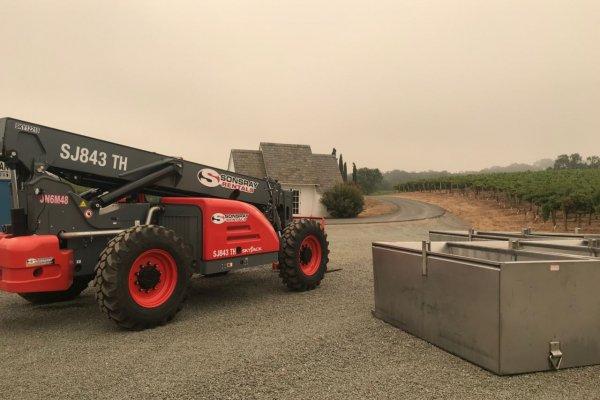 wild fire construction machine rentals